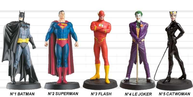 figurine marvel dc comics