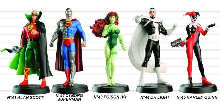Figurines Eaglemoss DC COMICS : Para-BD